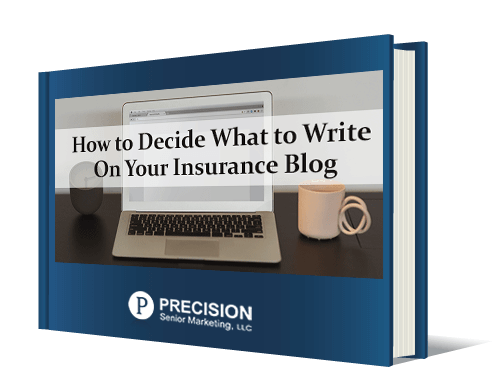 how to decide what to write on your insurance blog