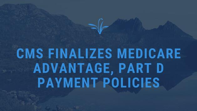 CMS finalizes payment policies