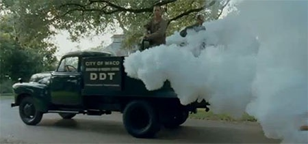 DDT spray truck