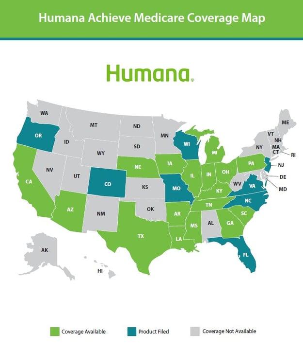 Humana map - achieve