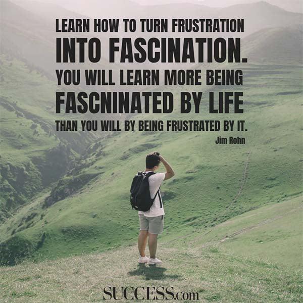 Jim Rohn on fascination