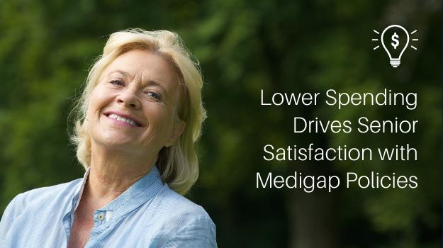 Lower Spending Drives Senior Satisfaction with Medigap Policies