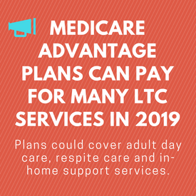 Medicare Advantage Plans Can Pay for Many LTC Services in 2019
