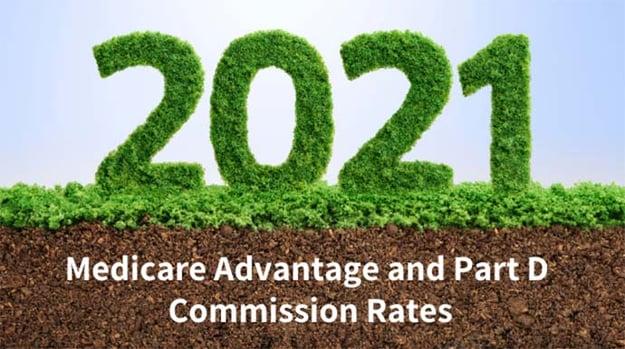 Medicare Advantage and Part D Commission Rates