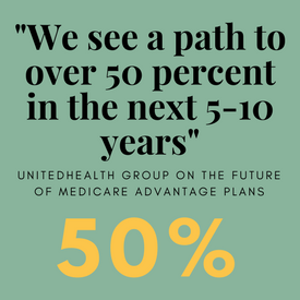 Medicare Advantage expected to grow to 50 of market, says UnitedHealth Group
