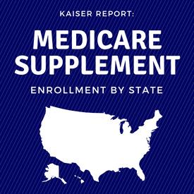 Medicare Supplement Enrollment By State