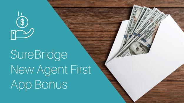 New Agent First Apps Bonus