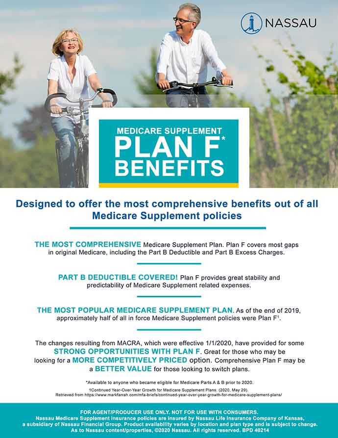 Plan F Benefits Flyer