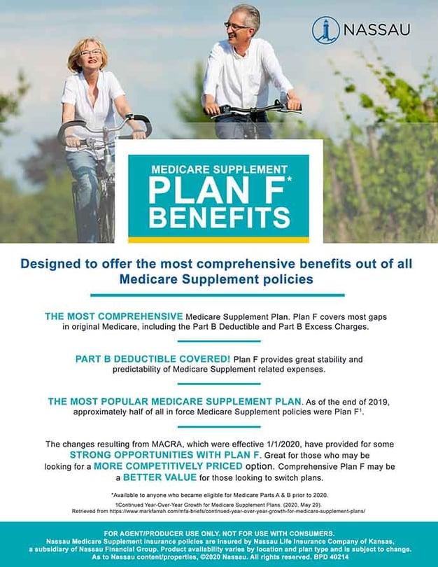 Plan F Benefits Flyer