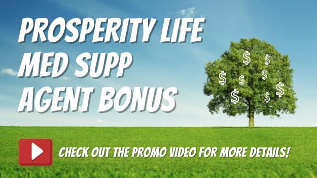 Prosperity Life Agent Bonus - Blog Header