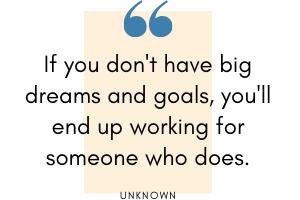 Quote dreams - unknown