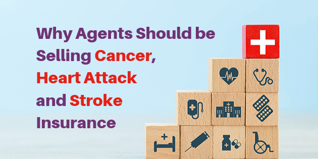 Selling Cancer Heart Attack and Stroke Insurance