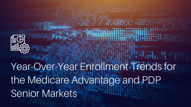 Year-Over-Year Enrollment Trends for the Medicare Ad