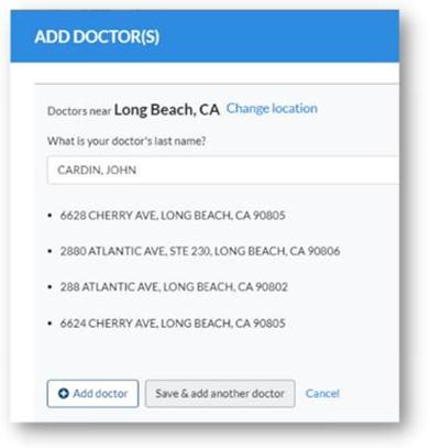 add doctor