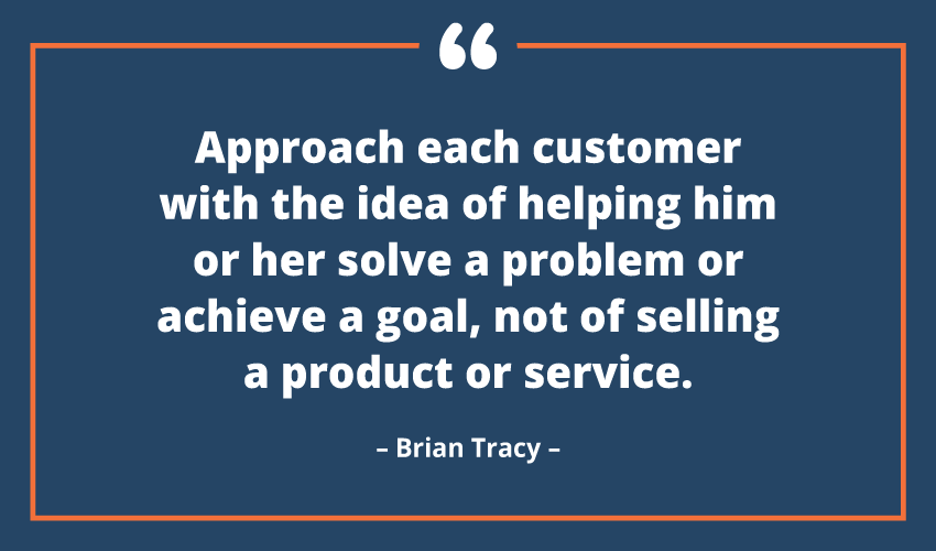 brian tracy helping quote