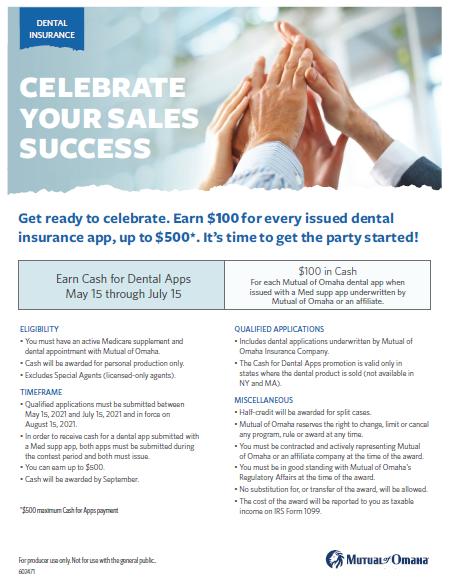 dental blog flyer