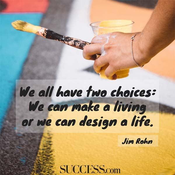 jim rohn design a life
