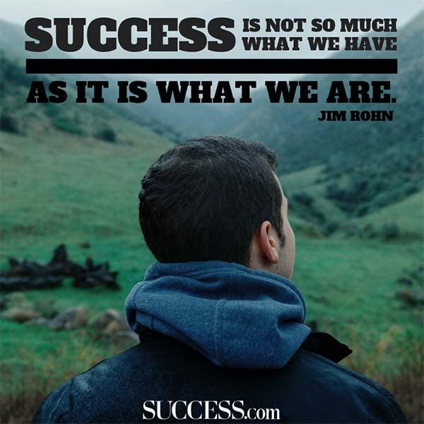 jim rohn success
