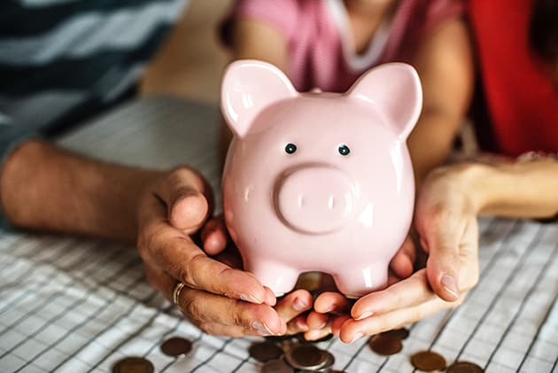 piggy bank poverty guidelines