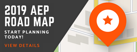 2019 AEP Road Map. Start planning!