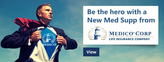 Be the hero with a new Medicare Supplement from Medico